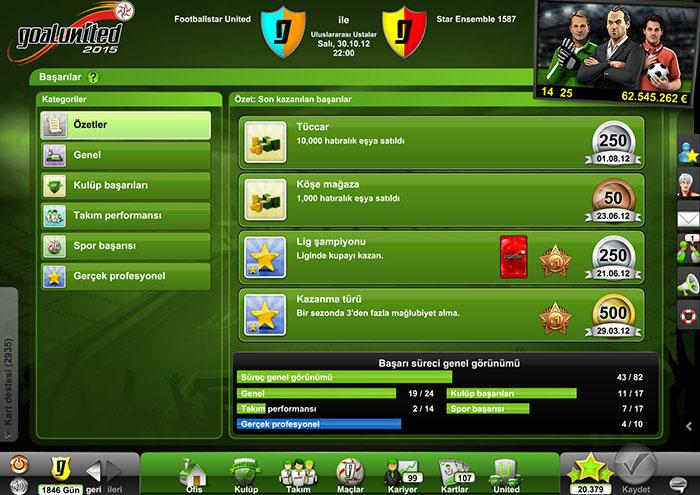 Goalunited Online Futbol Menajerlik Oyunu Ofis